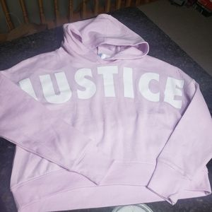 New Justice cropped sweatshirt Size 10